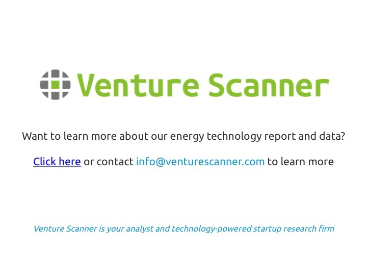 Energy Technology Q1 2017 Venture Scanner Contact