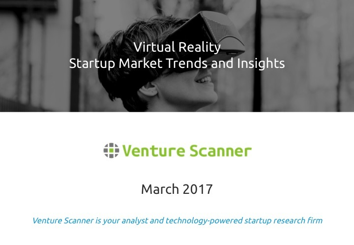 Virtual Reality Q1 2017 Market Report