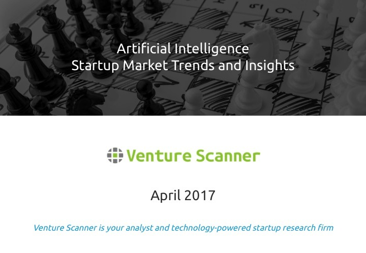 Artificial Intelligence Q1 2017 Market Report