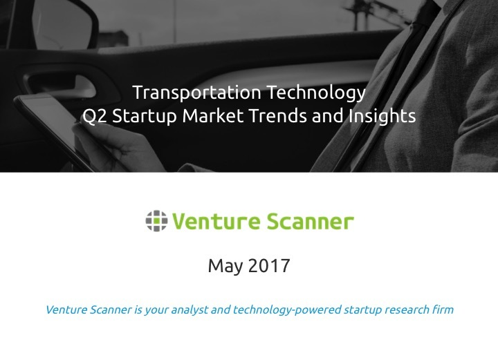Transportation Tech Q2 2017 Market Report