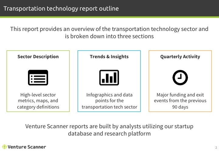 Transportation Tech Q2 2017 Report Agenda