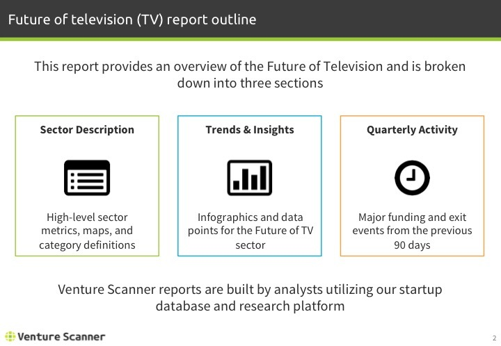 Future of TV Q2 2017 Report Outline