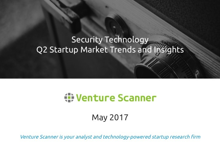 Security Tech Q2 2017 Market Report