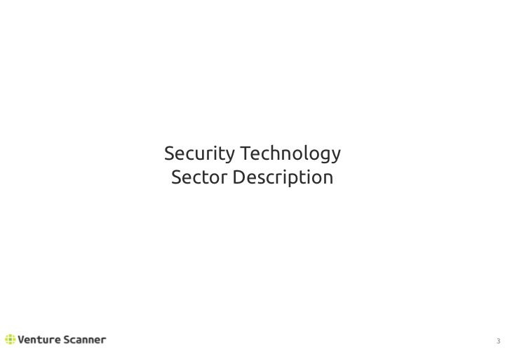 Security Tech Q2 2017 Sector Description