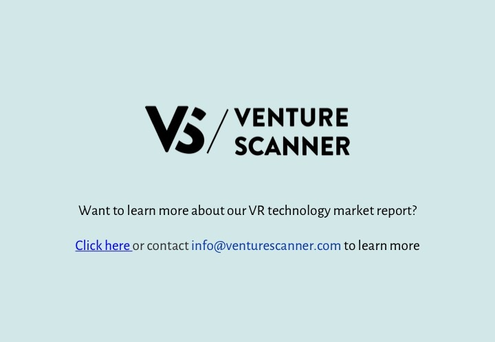 VR Q3 2017 Venture Scanner Contact