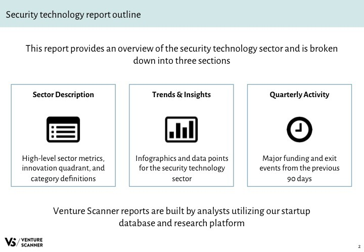 Security Tech Q3 2017 Report Outline
