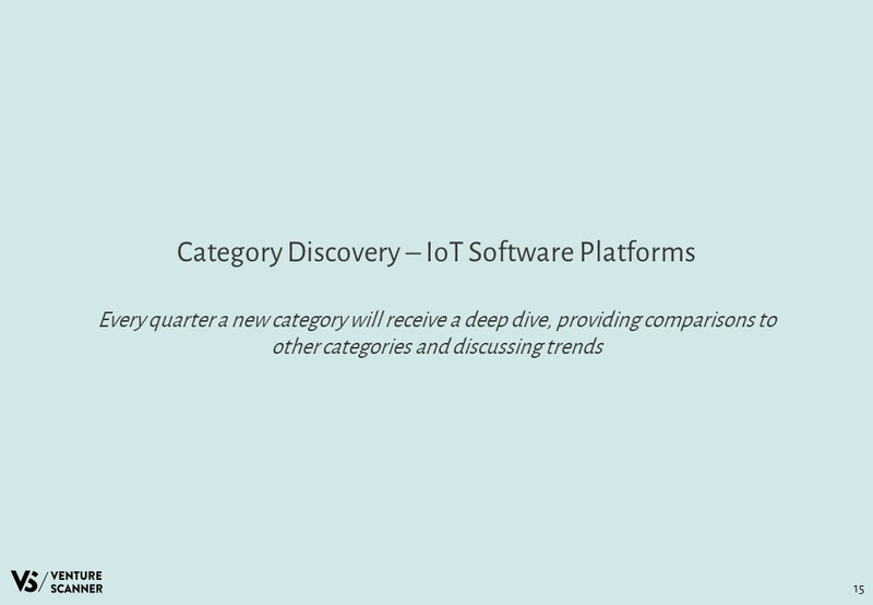 IoT Software Platforms