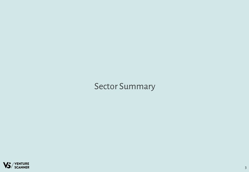 Insurance Technology Sector Summary